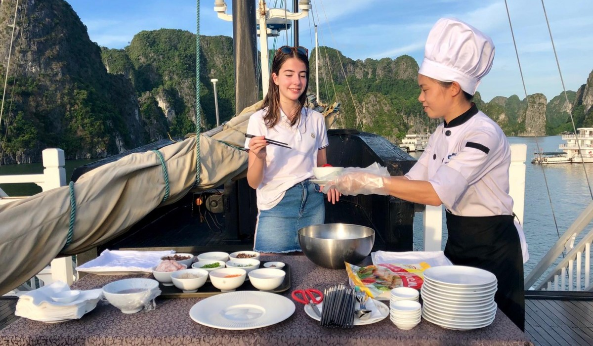 Show Cooking en Vietnam